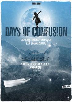 Days of Confusion - lansare LIA (Ramai Cumva) la Expirat pe 20 noiembrie