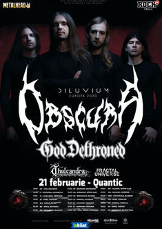 Poze Concert Obscura si God Dethroned la Quantic
