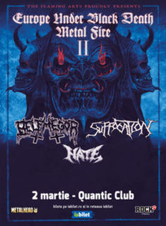 Carnosus si Shadowmass deschid concertul Belphegor si Suffocation din Quantic