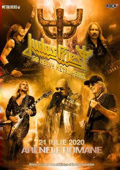 Judas Priest la Bucuresti: S-au pus biletele in vanzare