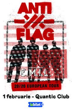 Poze concert Anti-Flag la Bucuresti