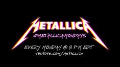 Urmariti noul concert din seria Metallica Mondays