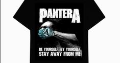 Pantera a lansat un tricou care promoveaza distanta sociala pe timp de pandemie