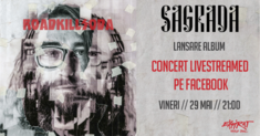 RoadkillSoda lanseaza albumul 'Sagrada' pe 29 Mai cu un concert Livestremed din Expirat