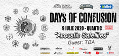 Green Shepherd canta in deschiderea concertului 'Days of Confusion, Acoustic Satellites'