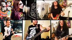 Membrii trupelor Anthrax, Testament si Suicidal Tendencies au facut un cover a piesei 'C'mon And Love Me' de la Kiss