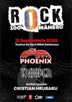 Rock 100% Romanesc pe 11 Septembrie la Amfiteatrul Mihai Eminescu din Bucuresti