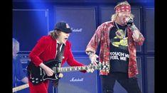 Un concert AC/DC din 2016 alaturi de Axl Rose este acum online