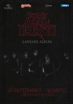 Lansare de album Akral Necrosis pe 25 septembrie in Quantic Club