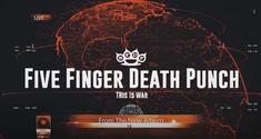 Five Finger Death Punch au lansat un clip pentru piesa 'This Is War'