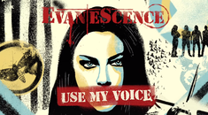 Evanescence a colaborat cu mai multi artisti pentru cel mai recent single, 'Use My Voice'