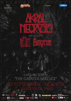Programul si regulamentul concertului de lansare Akral Necrosis din Quantic Club