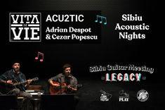 Seri acustice cu Adrian Despot & Cezar Popescu, Trooper, Mircea Vintila si Emeric Imre, in cadrul Sibiu Guitar Meeting