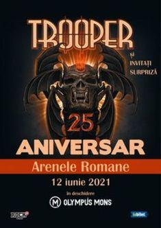 Program si reguli de acces Concert Trooper25 la Arenele Romane