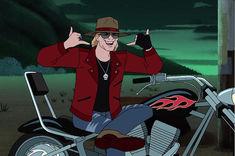Axl Rose devine personaj animat in seria Scooby-Doo