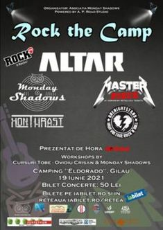 Rock the Camp pe 19 iunie