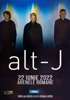 Concert alt-J la Bucuresti pe 22 iunie 2022