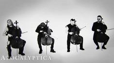 Apocalyptica au lansat un clip live pentru 'Seek & Destroy'
