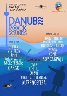 Danube Rock Sounds Galati in perioada 17 - 19 Septembrie pe Plaja Dunarea
