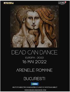 Dead Can Dance in concert la Arenele Romane pe 16 Mai 2022