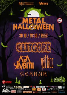 Metal Halloween - Clitgore, Apa Simbetii, Vathos, Gerra