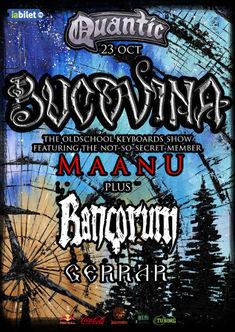 Concert Bucovina in Club Quantic