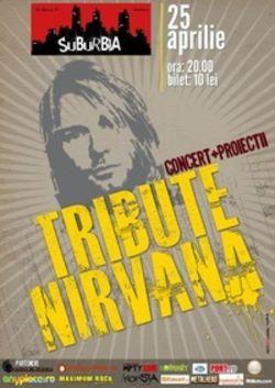 Concert tribut Nirvana in Club Suburbia din Bucuresti