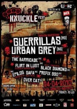 Knuckle Fest la Casa Armatei din Bistrita - Concerte 2014 - 2015