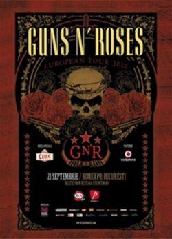 Concert Guns N Roses in septembrie in Romania, la Bucuresti