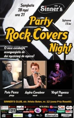 Rock Covers Night Party in Club Sinner's