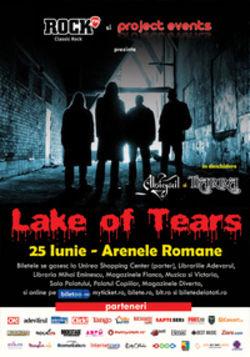 Concert Lake Of Tears la Arenele Romane din Bucuresti