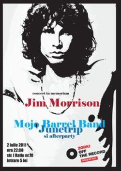 Concert tribut Jim Morrison in Cluj-Napoca