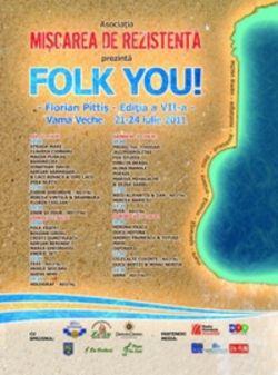 Festivalul Folk You la Vama Veche - Concerte 2014 - 2015
