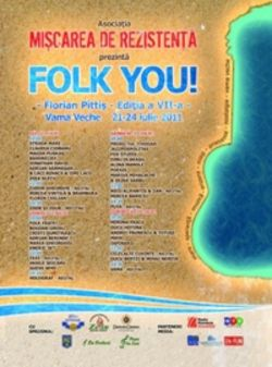 Festivalul Folk You la Vama Veche - Concerte 2015