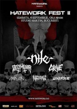 Hatework Festival - Nile, Belphegor, Grave