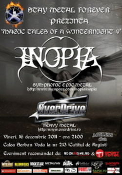 Concert Inopia si Overdrive in Bucuresti