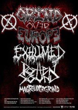 Concert Exhumed, Rotten Sound si Magrudergrind in Cluj-Napoca