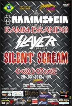 Concert tribut RAMMSTEIN si SLAYER in Tg Mures