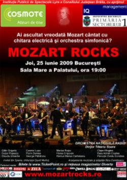 Concert Mozart Rocks la Sala Palatului