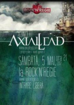 Concert AXIAL LEAD in Rock'n Regie