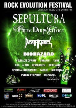 ANULAT - Rock Evolution festival la Oradea: SEPULTURA, BIOHAZARD