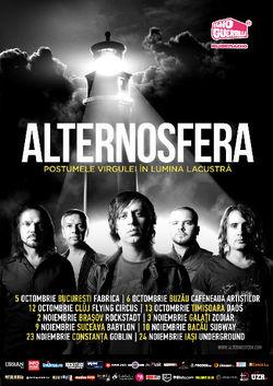 Alternosfera: Concert in Brasov - Concerte 2014