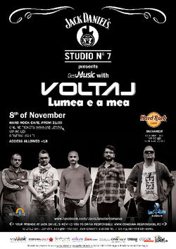 Voltaj: Concert in Hard Rock Cafe