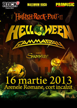 Helloween si Gamma Ray: Concert la Bucuresti