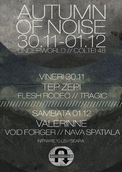 Autumn Of Noise Festival in Club Underworld din Bucuresti