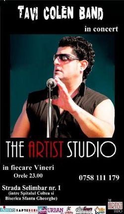 Tavi Colen band: Concert in The Artist Studio din Bucuresti