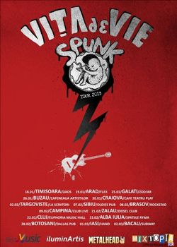 Vita De Vie Spunk Tour 2013: Concert la Cluj in Euphoria Music Hall - Concerte 2014