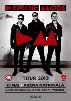 Depeche Mode: Concert in Bucuresti pe Arena Nationala pe 15 mai