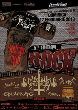 Targul tROCK revine la Cluj pe 17 februarie