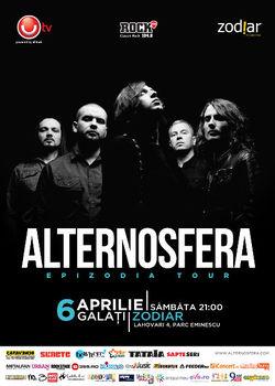 Concert Alternosfera la Club Zodiar din Galati
